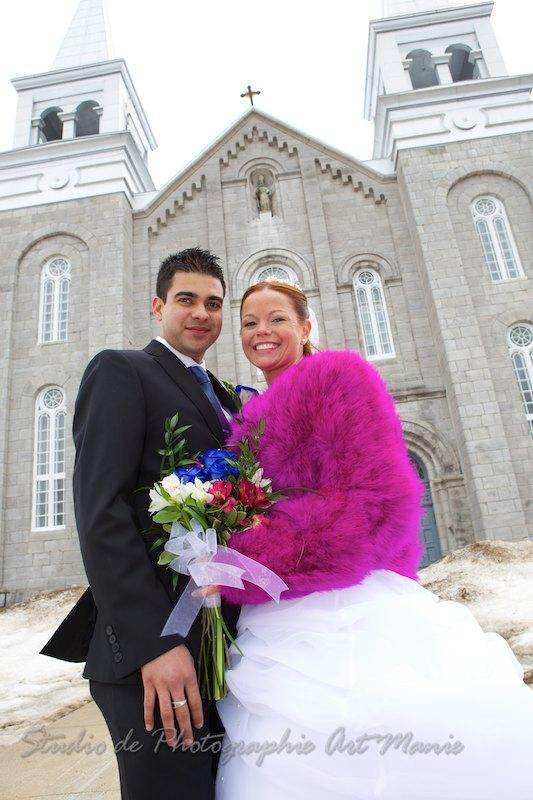 Shaina and Justin's Saint-Cuthbert Winter Wedding!!