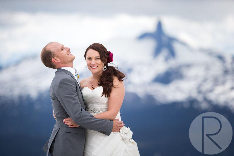 Lisa and Blair?s Mountain Top Whistler Wedding!!