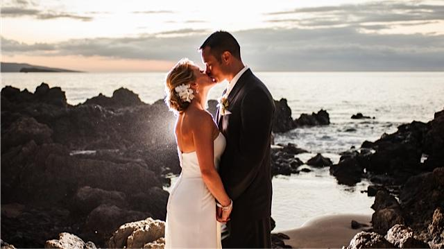 Tiffany and Chad's Beachside Elopement in Maui!