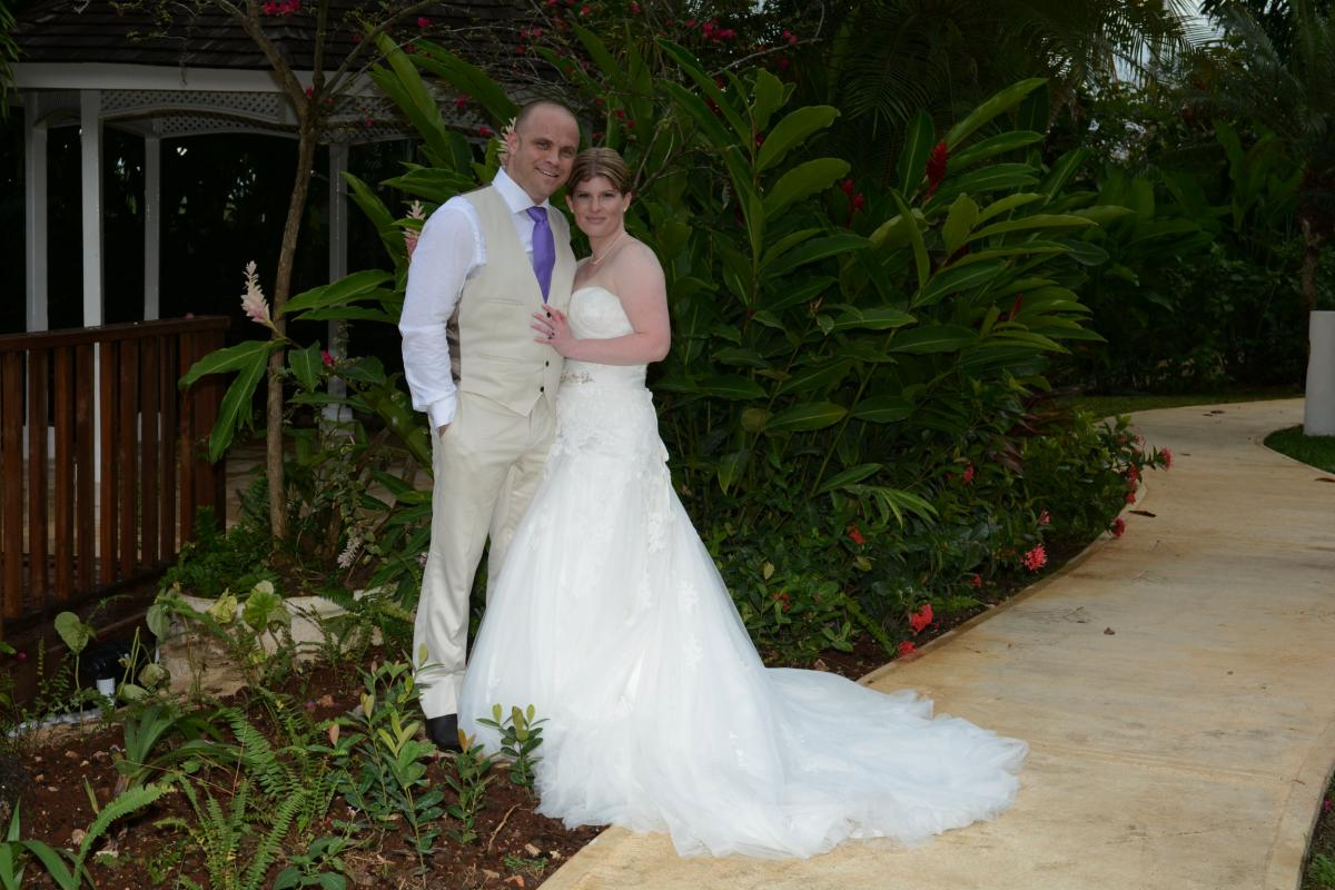Shannon and Nigel's Beachside Wedding in Jamaica!!