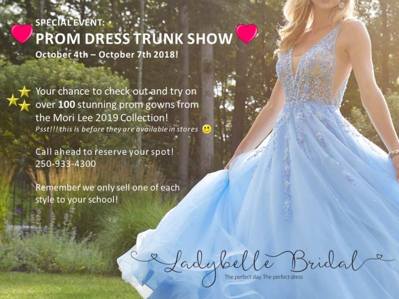 Prom Dress Trunk Show